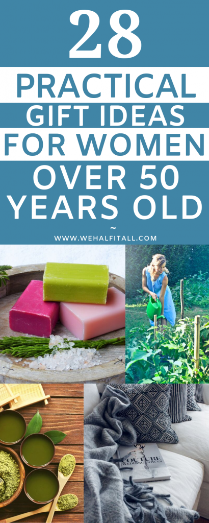 28 Practical Gift Ideas For Women Over 50 Years Old