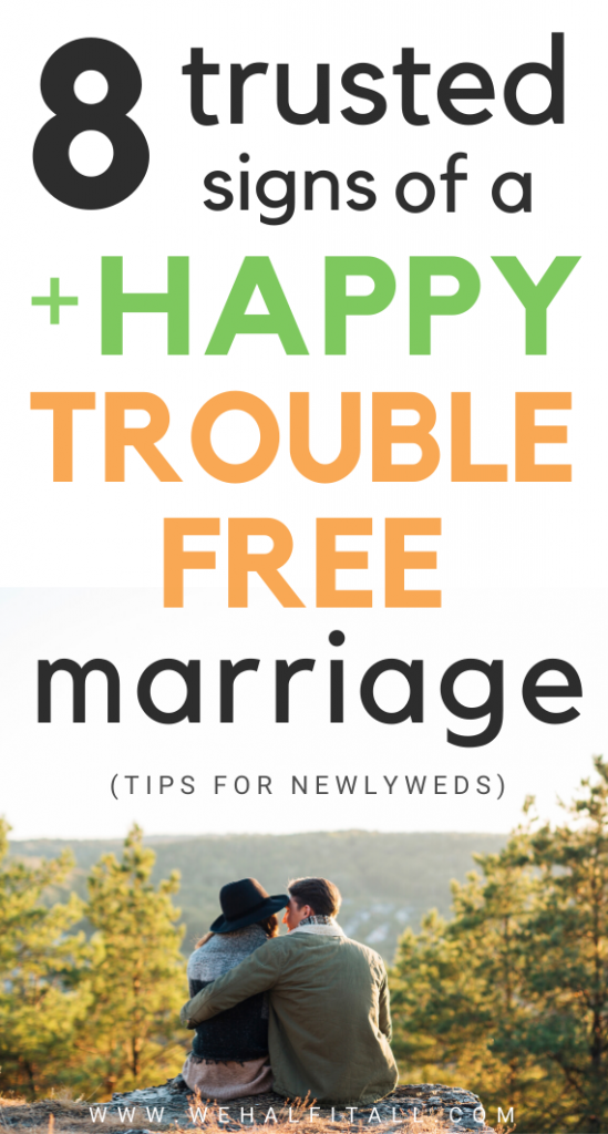 Shh, can you tell these are the subtle trusted true signs of a happy & problem free marriage? Learn HOW can you know and identify when you are truly, genuinely happy with your marriage life. Here are some best signs of a healthy marriage -  Trust, tips for newlyweds,happy, troubled free, marriage advice, relationships, for husbands, for wife, for the bride, married, happy, ideal, quotes, marriage tips, ideas, truths, signs of good marriage, best couple, husband, in laws, sex life, money, emotion